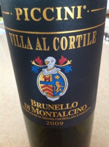 Brunello di Montalcino 2009 DOCG from Piccini