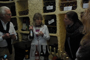 Wine tasting at Bagrationi 1882