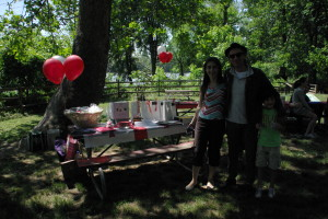GeorgianDC picnic is ready to begin!