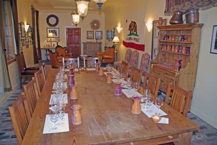 Caymus Vineyards tasting room