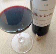 My wine a 2009 Atlas Peak Cabernet Sauvignon/Merlot