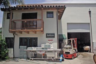 Jaffurs Wine Cellars in Santa Barbara focuses on Rhone varietal grapes.