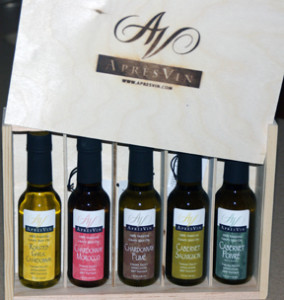 Father's Day Idea: AprèsVin single varietal grape seed oil