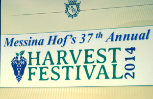 Messina Hof's annual harvest festival in Texas!