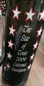 The Star of Texas 2009 Cabernet Sauvignon