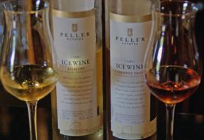 Icewines at Peller Estates