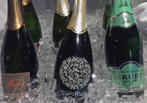 Sparkling wines at Tasters Guild Maryland holiday brunch
