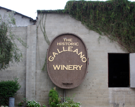 Galleano Winery, CA