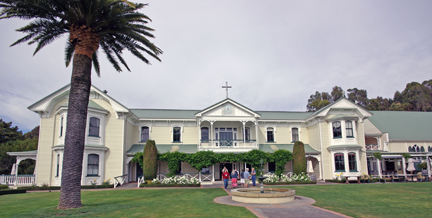Mission Estate Winery is one of the oldest wineries in Hawke's Bay, New Zealand