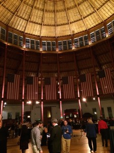 Wine Tasting in the B &O Roundhouse