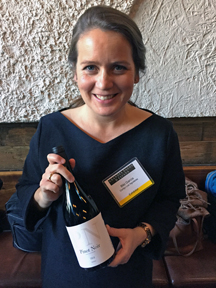 Bibi Garcia, winemaker at Cortijo Los Aguilares