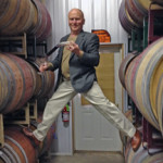 Winemaker showing his many talents!