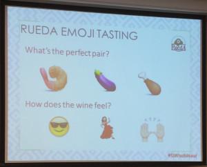 Rueda Emoji Tasting