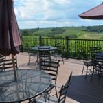View of Shade Mountain Vineyards