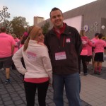 Meghan and Andy at Making Strides