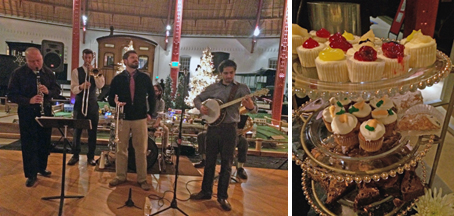 A live jazz band and delicious desserts await you at Winter Wine, B&O Railroad Museum.