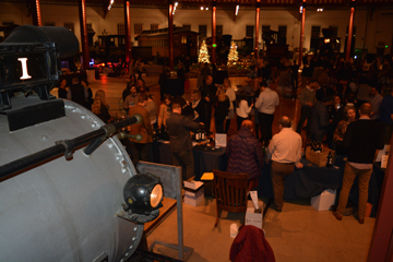 B & O Roundhouse: Winter Wine Event