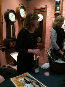 Elk Run Vineyards poured Method Champenoise Sparkling Wine 2011