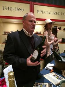 Crow Vineyard offered Sparkling Vidal Blanc 2013