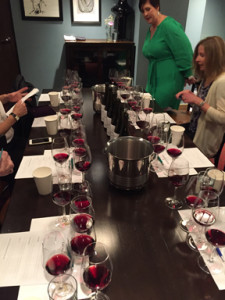Gloria Ferrer Tasting of Pinot Noir Clones