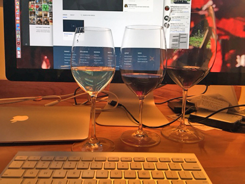 Wine, Food and Twitter