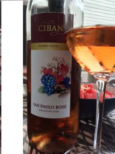 A Croatian wine from Ciban