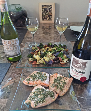 Chenin Blanc pairs with many different foods.