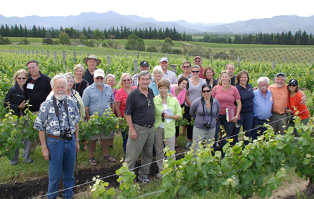 WSU Viticulture and Enology trip to New Zealand
