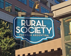 Rural Society restaurant in Washington DC