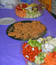 Just a sample of the wonderful foods