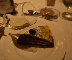 Crepe dessert