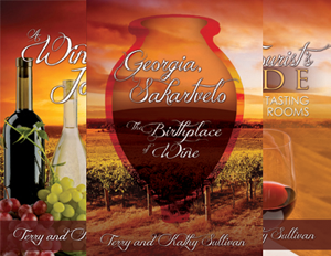 3 Wine Trail Traveler books
