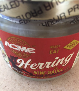 Herring in Wine Sauce for New Year's