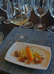 Wine and food pairing at St. Francis Winery & Vineyard