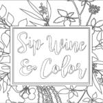 Sip Wine & Color