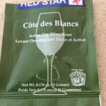 Côte des Blancs, a winemaker's yeast