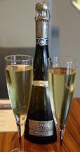 sparkling wine at Artesa Vineyards and Winery