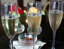sparkling wines at Gloria Ferrer