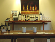 tasting room at Sullivan Vineyards