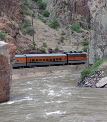 Royal Gorge Route Wine Train