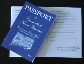 Connecticut winery passport