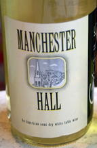 Manchester Hall wine