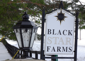 Black Star Farms Inn and winery