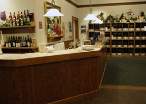 Chateau Grand Traverse tasting room