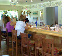 tasting room at Sandhill Crane Vineyards