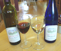 wine at Sandhill Crane Vineyards