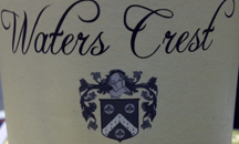 Jim's crest is included on some of the wine bottle labels.