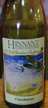 wine at Hinnant family Vineyard