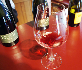 Erath Pinot Noir Riedel glass