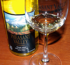 Pheasant Valley wine